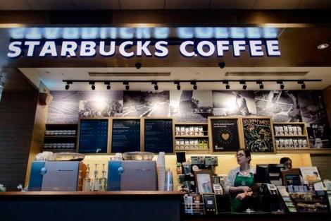 Una cafetería Starbucks.| Afp