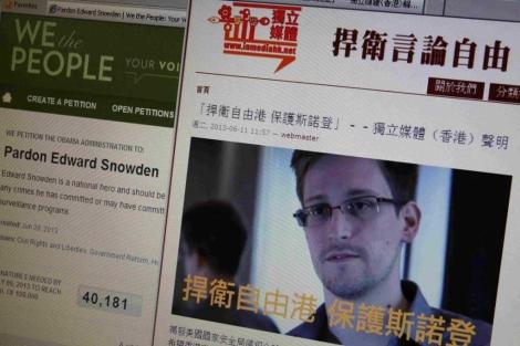 Varios medios de Honk Kong han hecho un comunicado apoyando a Snowden.| Reuters