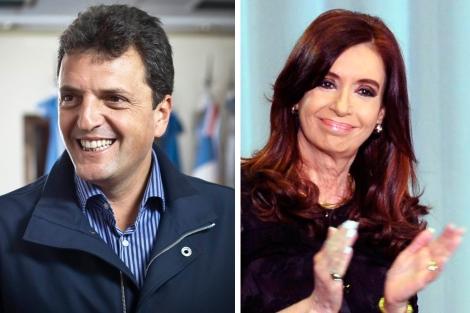 Massa y Fernández de Kirchner, rivales en los próximos comicios.| Efe