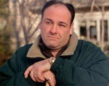El actor, en 'Los Soprano'.