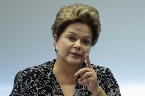 La presidenta Dilma Rousseff esta semana.| Reuters