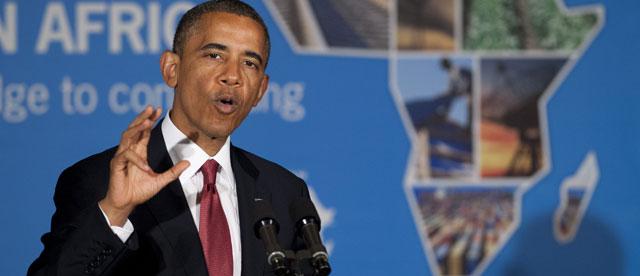 El presidente de EEUU, Barack Obama, en África el 1 de julio. | Afp