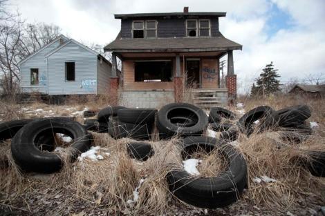 Vivienda abandonada en Detroit. | Reuters