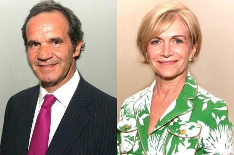 Andres Allamand y Evelyn Mathei.| Gobierno de Chile