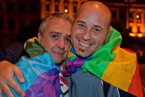 Rubén y Martín, a punto de registrarse.  D.C.