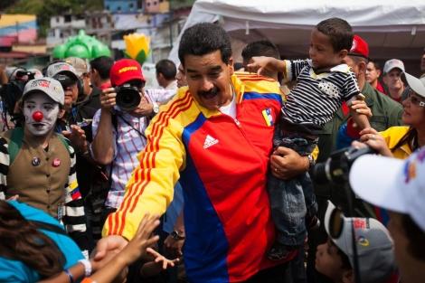 Nicolás Maduro el pasado 8 de agosto. | Efe