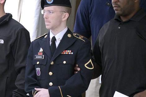 Manning, tras conocer la condena. | Efe