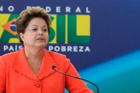 Dilma Rousseff, este miércoles. | Efe