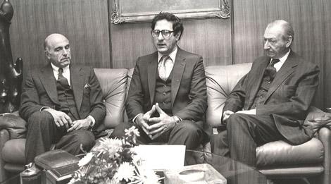 José Zalaquett, en el centro. | Amnistía Internacional