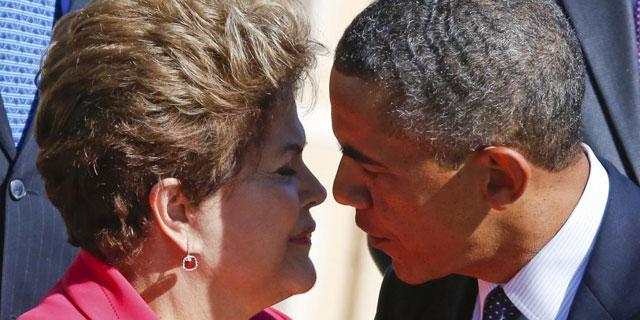 Dilma Rousseff y Barack Obama, en la cumbre del G20. | Reuters