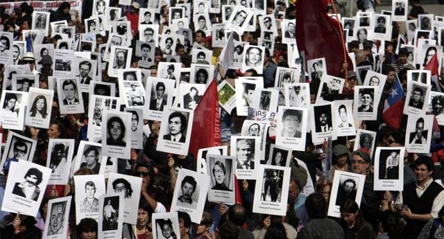 Manifestación por la memoria de los desaparecidos. | AFP