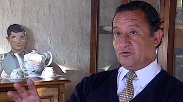 Juan Molina, durante la entrevista en Santiago de Chile.