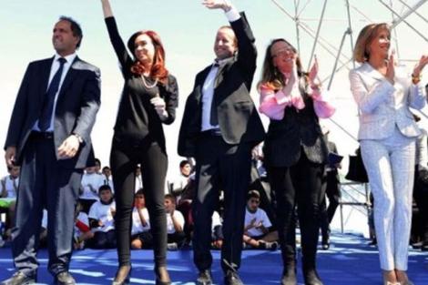 Cristina Fernández de Kirchner, con las 'calzas' de la polémica. | Twitter