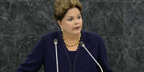 La presidenta Dilma Rousseff en la ONU.| Efe
