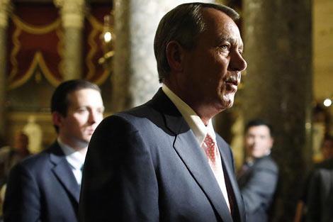 John Boehner, a quien la Casa Blanca responsabiliza del cierre. | Reuters