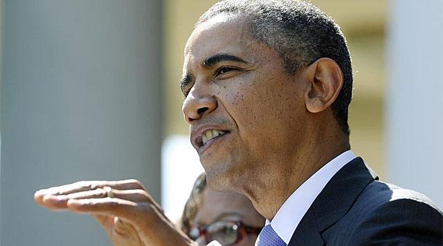Barack Obama durante su intervención. | Foto: Afp
