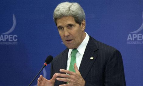 John Kerry. | Afp