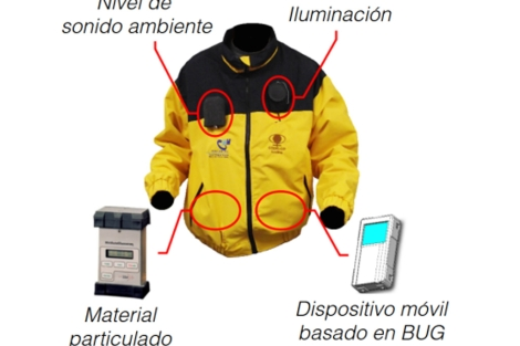La chaqueta 'Solunova'.
