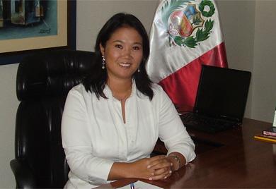 Keiko Fujimori. | Ramy Wurgaft
