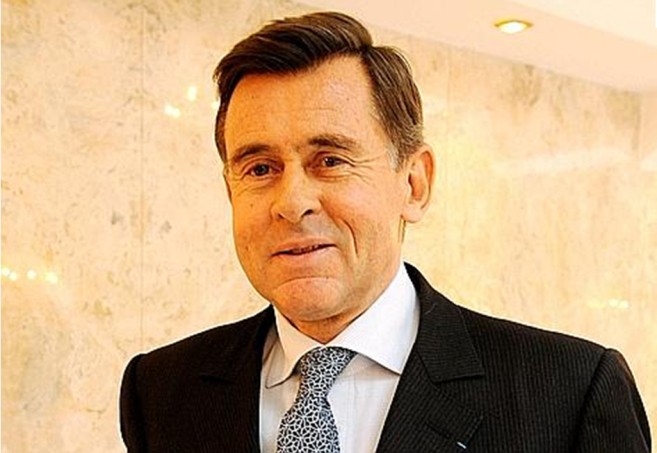 George Plassat, consejero delegado de Carrefour.
