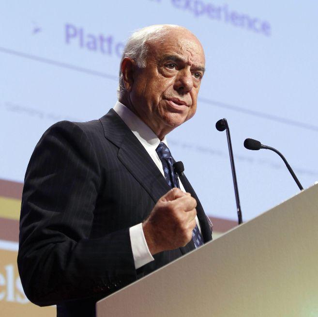 Francisco González, presidente del BBVA.