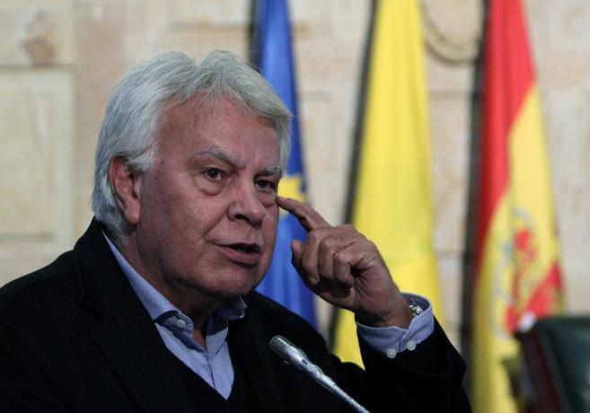 El ex presidente del Gobierno, en un acto celebrado ayer en Bogotá.