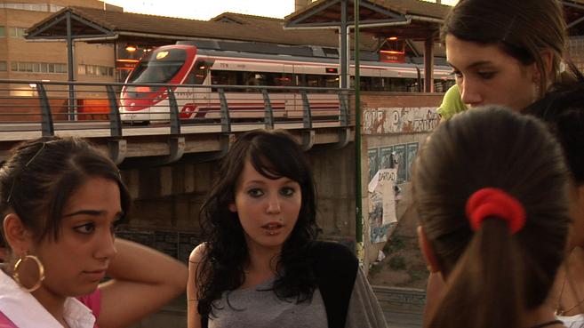 Cuatro chicas del grupo 'The Shespirs', en un fotograma del...