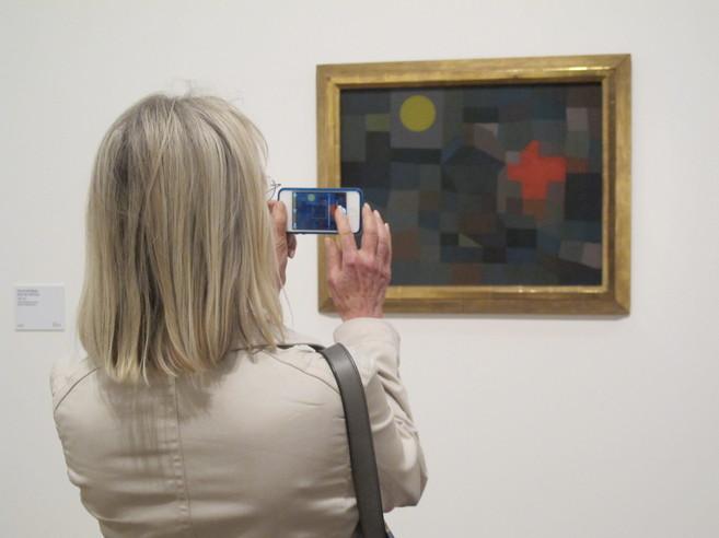 Exposición de 'Paul Klee: making visible'.