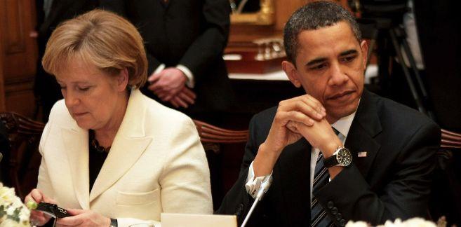Merkel y Obama en una imagen de archivo del 1 de abril. | Afp