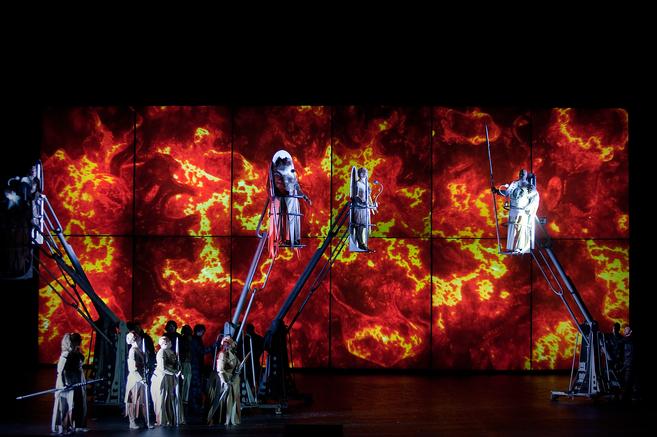 Representación de 'La Valquiria' en el Palau de les Arts de...