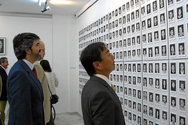 Exposición de los rostros de 400 vecinos de Coria que se apellidan...