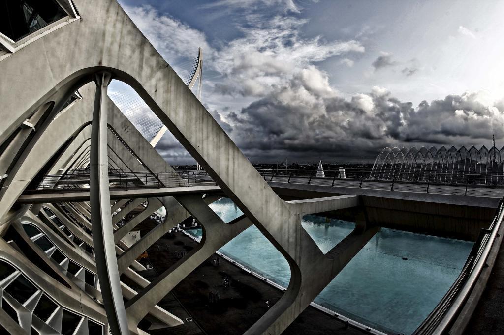 Vista general de parte de la Ciudad de las Ciencias, donde se rodará...