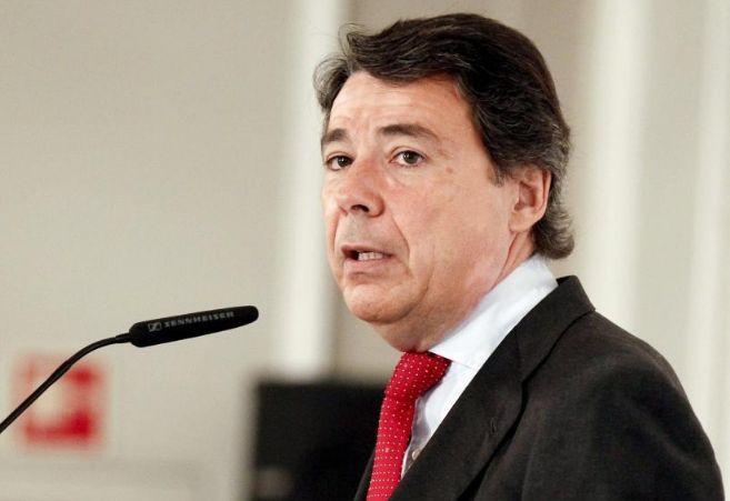Ignacio González durante su intervención.