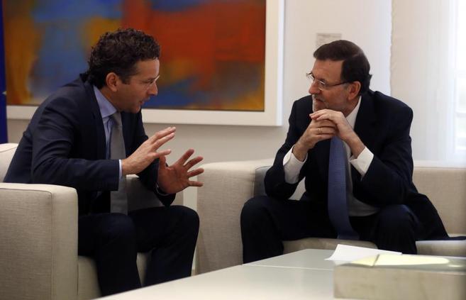 Rajoy conversa con Jeroen Dijssbloem, hoy en La Moncloa