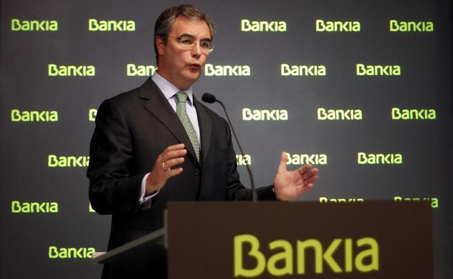 El director general de Presidencia de Bankia, José Sevilla.