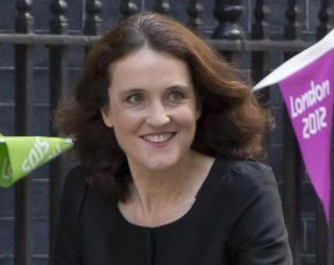 La secretaria de Estado de Irlanda del Norte, Theresa Villiers