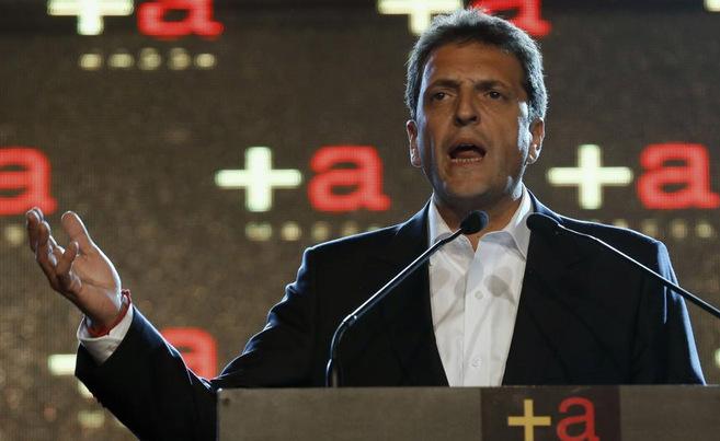 Sergio Massa, el posible sucesor de Kirchner en 2015.