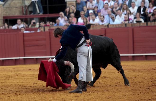 El Juli, en Sevilla el pasado 12 de octubre.