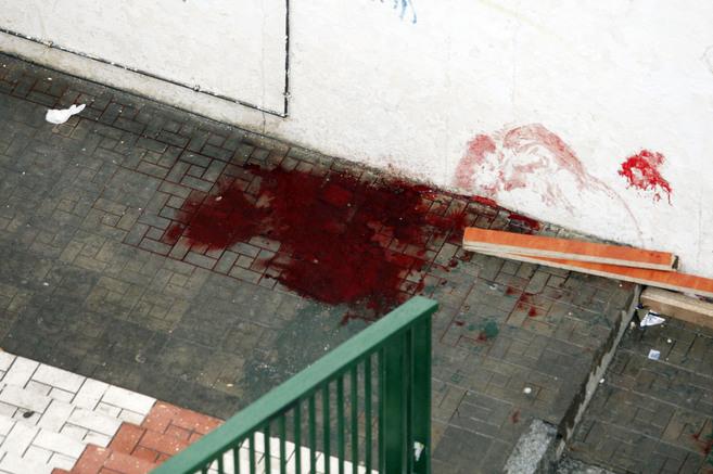 Lugar en el que fue asesinada la víctima, en la barriada de El Palo.