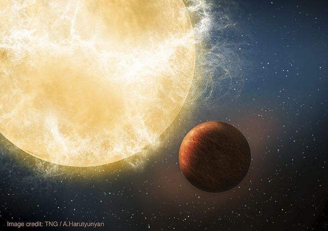 Recreación artística de Kepler-78b