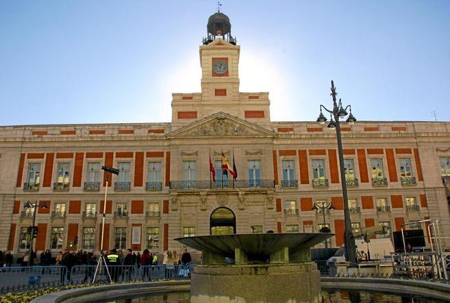La Real Casa de Correos, sede del Gobierno autonómico, que esta...