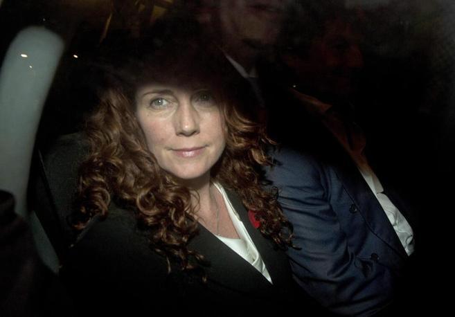 La ex directora de The Sun y News of the World, Rebekah Brooks