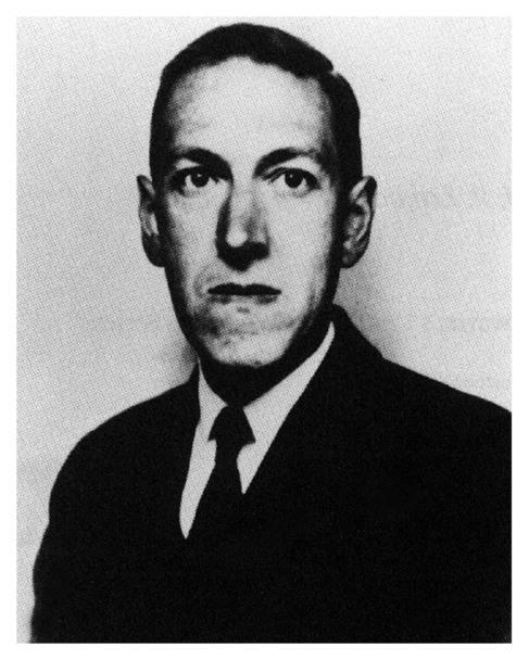 El escritor estadounidense H. P. Lovecraft.
