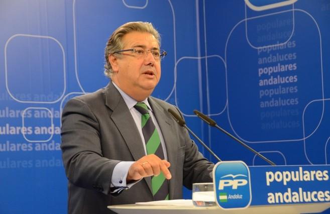 El líder los 'populares' andaluces, Juan Ignacio Zoido,...