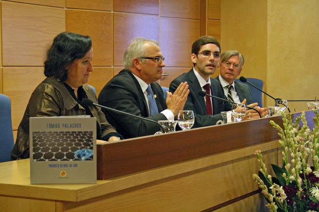 Tomás Palacios, en una conferencia ofrecida en la Universidad de...