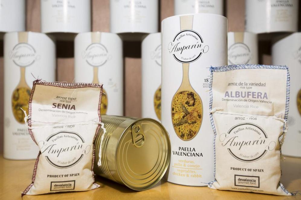 'Paellas artesanas Amparín', un producto ideado por la...