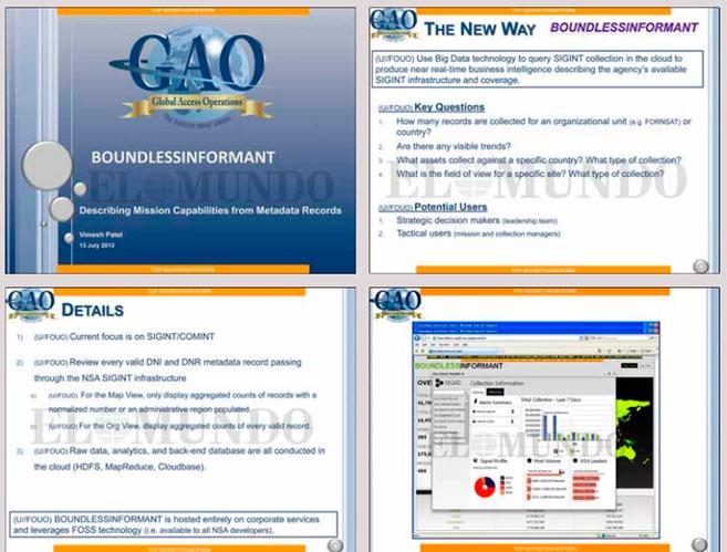 Imágenes del 'dossier' que explica el 'software'...