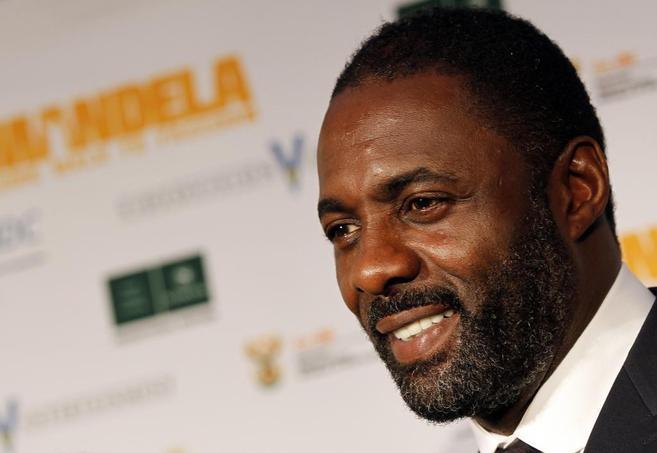 Idris Elba, el actor británico que interpreta a Nelson Mandela en la...