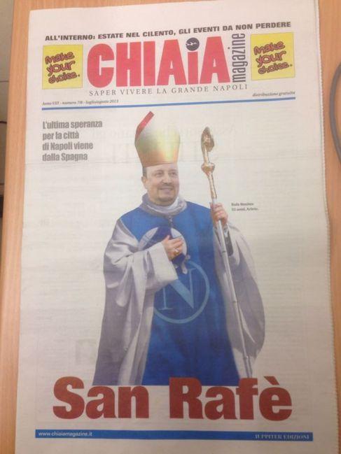 Imagen de la portada del Chiaia Magazine.