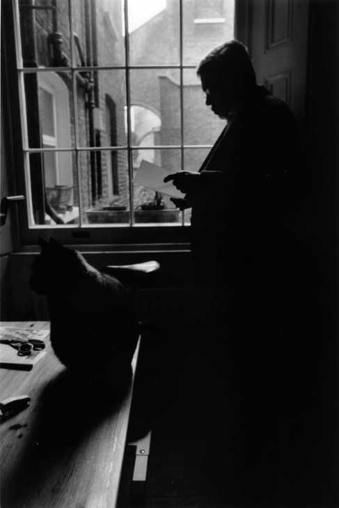 Cabrera Infante, en Londres, en 1999.